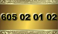 zlaté  číslo - 605 02 01 02 - T-mobile