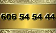 zlaté  číslo - 606 54 54 44 - O2