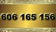 zlaté  číslo - 606 165 156 - O2