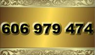 zlaté  číslo - 606 979 474 - O2