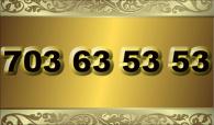 zlaté  číslo - 703 63 53 53  T-mobile