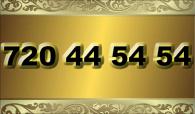 zlaté  číslo - 720 44 54 54 - O2