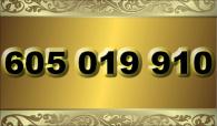 zlaté  číslo - 605 019 910 - T-mobile