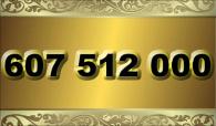 zlaté  číslo - 607 512 000 - O2