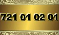 zlaté  číslo - 721 01 02 01 - O2