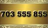 zlaté  číslo - 703 555 855