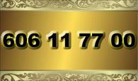 zlaté  číslo - 606 11 77 00 - O2
