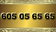 zlaté  číslo - 605 05 65 65 - T-mobile