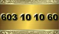 zlaté  číslo - 603 10 10 60 T-mobile www.extracisla.cz