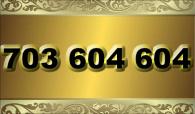 zlaté  číslo - 703 604 604 T-mobile