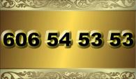 zlaté  číslo - 606 54 53 53 - O2