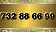 zlaté  číslo - 732 88 66 99 T-mobile